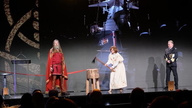 Viking Jupiter Naming Ceremony