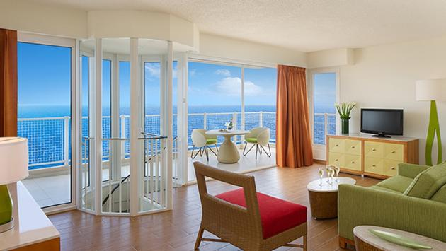 Presidential suite at sunscape curacao