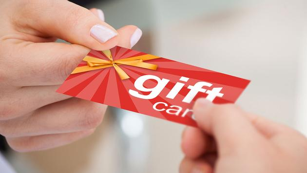 Exchanging gift card