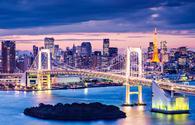 Tokyo, bay, bridge, japan