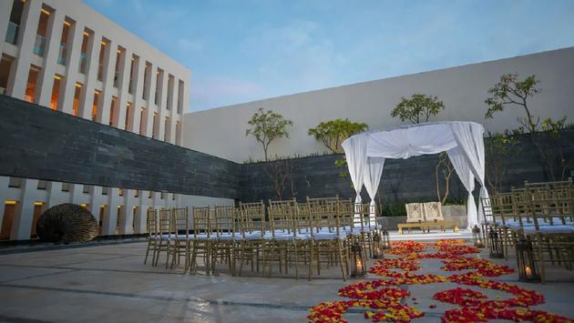FOTO: Todo listo para una ceremonia en el Grand Hyatt Playa del Carmen. (Foto de Grand Hyatt Playa del Carmen)