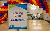 Southwest Airlines Relaunches from Houston Bush Airport