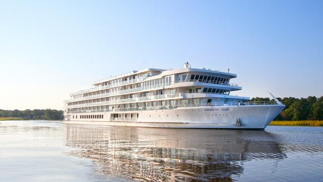 American Cruise Lines' newest vessel, American Jazz.