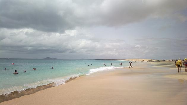 Cape Verde shoreline