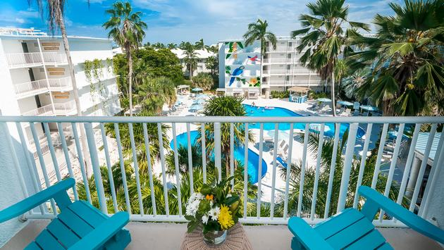 The remodelled Margaritaville Beach Resort Grand Cayman