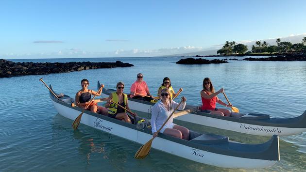 Sunrise Canoe experience