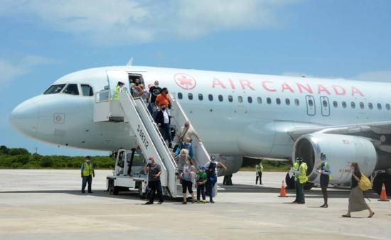 Air Canada Cayo Coco flight