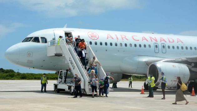 Air Canada Cayo Coco flight