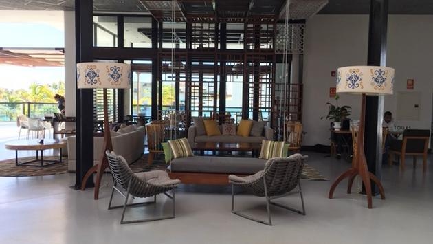 Lobby de l'hôtel TSC Cap Cana