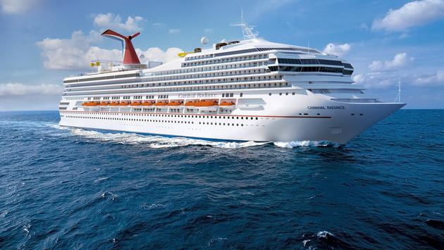 The newly renamed Carnival Radiance