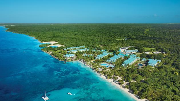 Hilton La Romana aerial image
