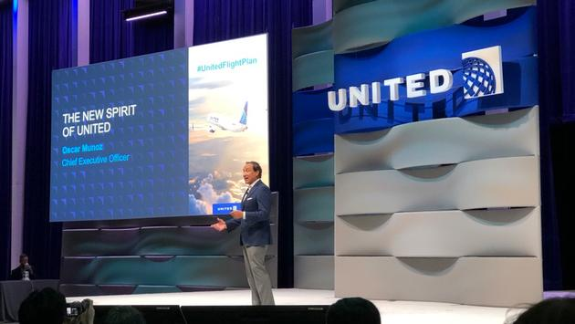 United Airlines Flight Plan 2020 event