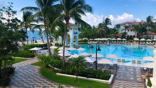 Sandals South Coast pool