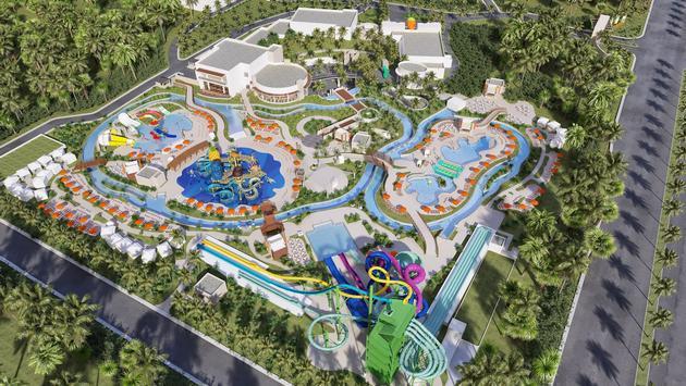 Nickelodeon Hotels & Resorts Riviera Maya rendering.