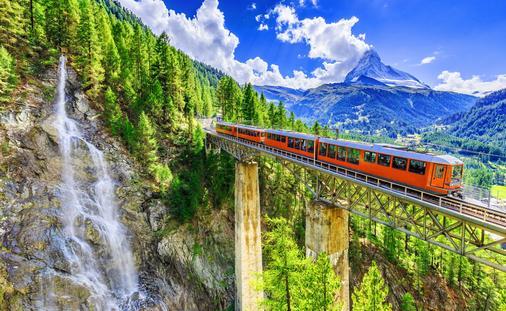 Zermatt, Switzerland Gornergrat Train