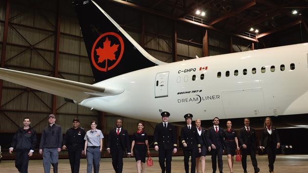 Membres du personnel d'Air Canada