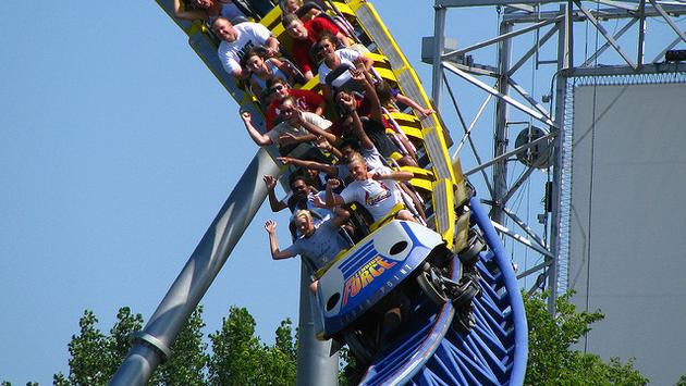 Millennium Force, Cedar Point, roller coaster