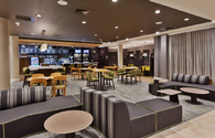 Courtyard by Marriott Baltimore Downtown/McHenry Row lobby