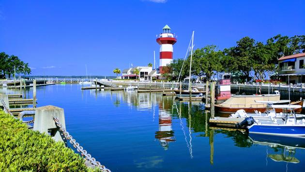 Harbour Town Lighthouse in Hilton Head, SC