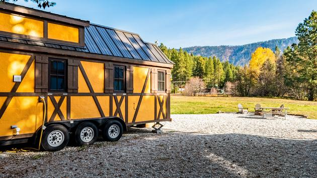 A tiny house in Leavenworth