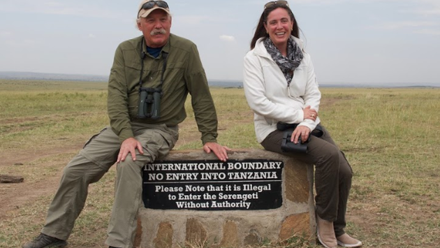Craig Sholley and Carter Smith, African Wildlife Foundation
