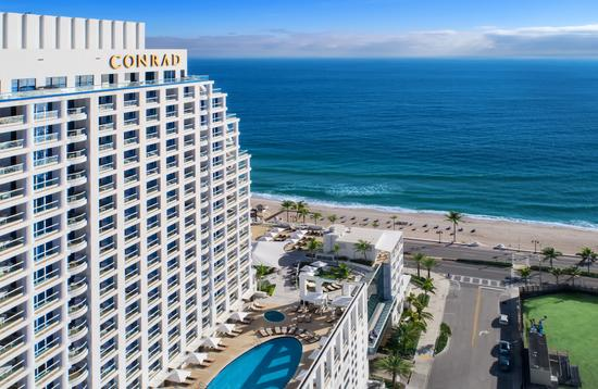 Fort Lauderdale's new Conrad hotel is an all-suite property.