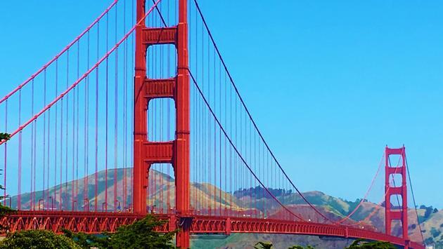FOTO: El icónico puente Golden Gate en San Francisco, California. (Foto de Noreen Kompanik)