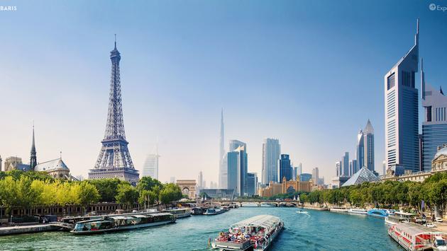 Dubaris is a blend of Dubai and Paris