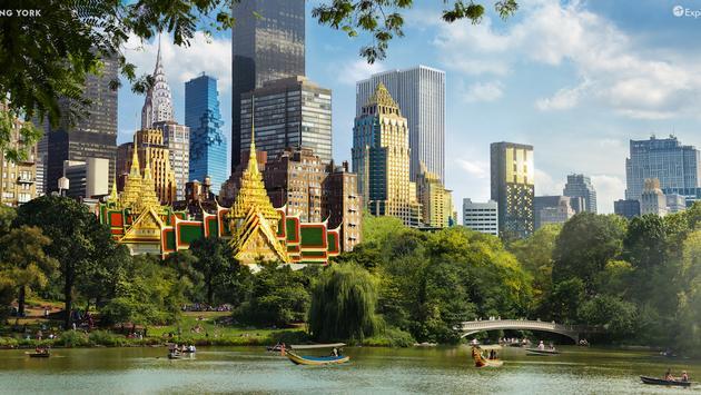 Bang York is a blend of New York City and Bangkok