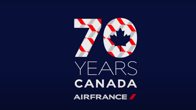 Air France 70 years in Canada