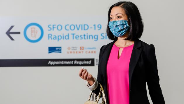 Covid-19 testing at SFO