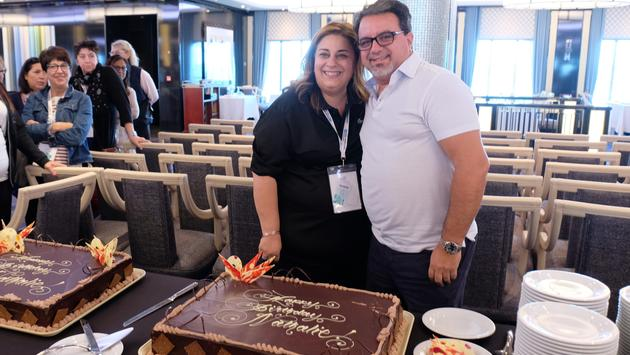 Nathalie Tanious and Frank DeMarinis, TravelBrands