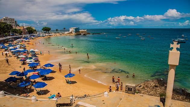 Beach in Bahia Brazil