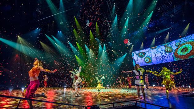 Cirque du Soleil performance in Las Vegas