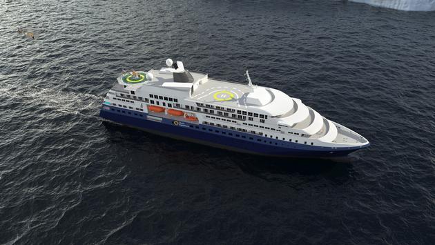 Quark Expeditions Polar Expedition Ship