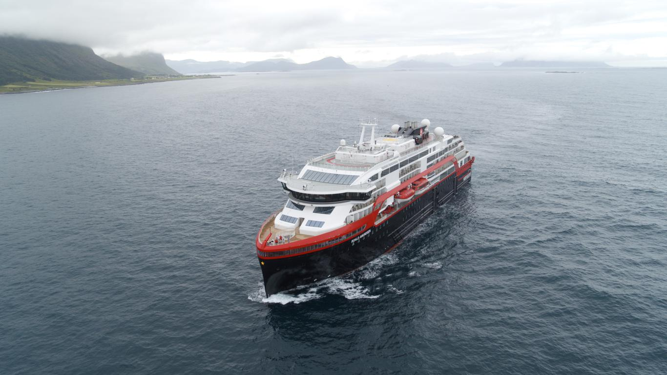 Hurtigruten Makes History