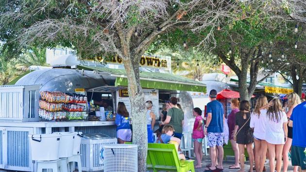 food truck, Seaside, Florida