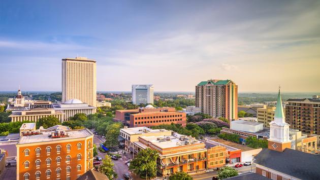 Tallahassee, Florida, USA Skyline