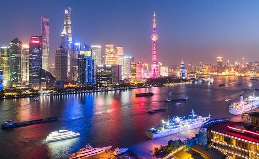 Cruise ships, Shanghai, China