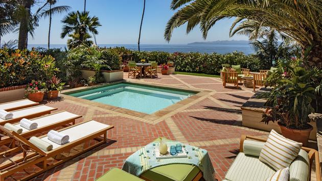 Ty Warner Villa at Four Seasons Resort The Biltmore Santa Barbara, California.