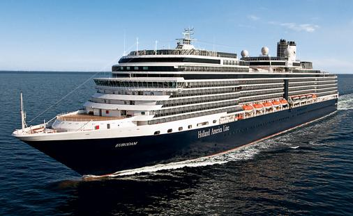 Holland America Line ms Eurodam. (photo courtesy of Holland America Cruise Line)