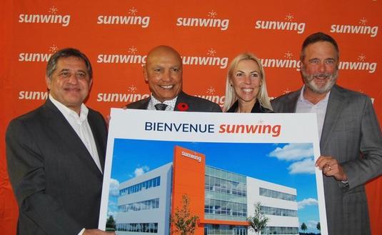 Inauguration du nouveau siège social de Sunwing