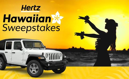 Hertz, Hawaiian, Sweepstakes