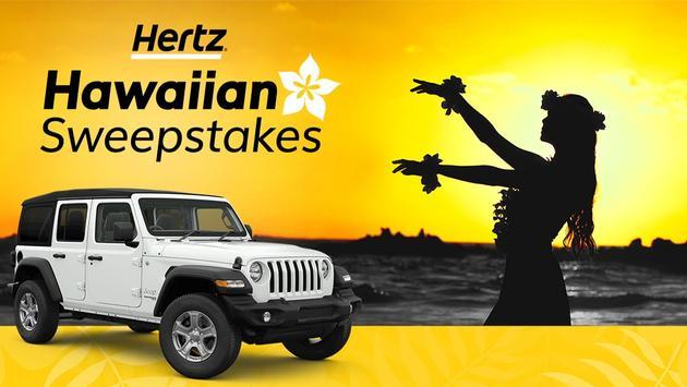 Hertz, Hawaiian, Sweepstakes