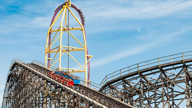 Roller coasters at Cedar Point