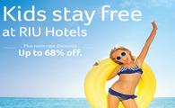 Kids Stay Free at RIU Hotels & Resorts