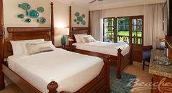 Tropical Beachfront Concierge Two-Bedroom Junior Suite: $684PP/PN