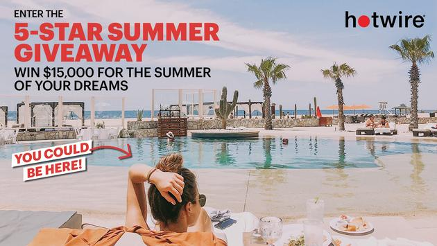 Hotwire's Five-Star Summer Giveaway