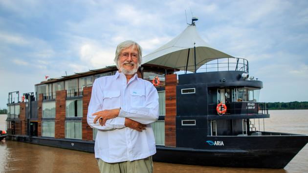 Jean-Michel Cousteau to work with Aqua Expeditions