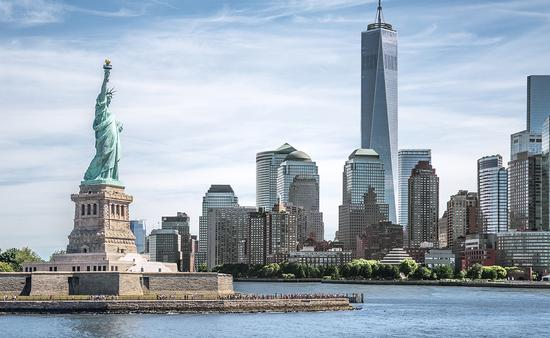 Landmarks of New York City, USA (Photo via spyarm / iStock / Getty Images Plus)